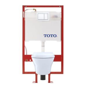 TOTO CWT437237MFG MH Wall Hung Toilet And DUOFIT In Wall Tank Sy