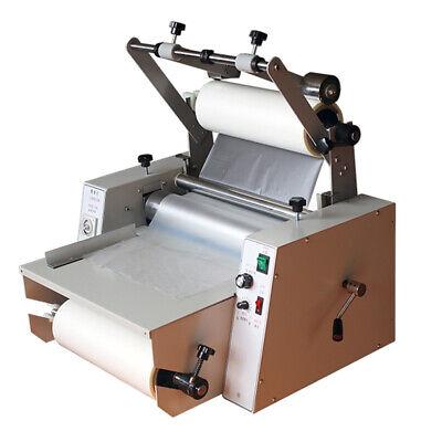 14 365mm Anti-curl Single Double Laminating Machine A3 Hot Roll Laminator