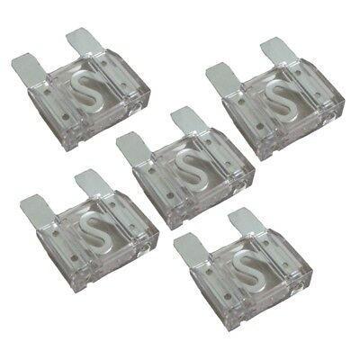 5 Pack of 80 Amp 80A Large Blade Style Audio Maxi Fuse for Car RV Boat Auto
