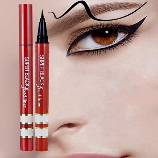 Black Eyeliner Waterproof Liquid Make Up Beauty Comestics Eye Liner Pen Pencil