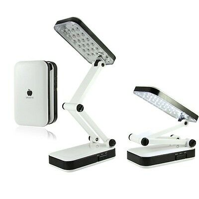 Lampara de 24 extensible Leds Lamp blanca y negra diseño elegante