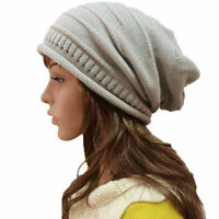 NEW woman slouch hats beanie modern fit all sizes Beige or Gray