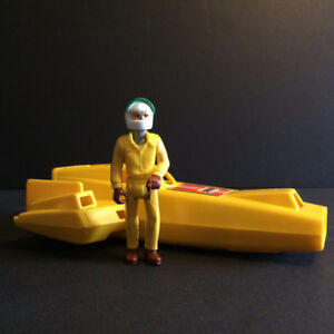 Vintage, Fisher Price, Land Speed Racer and Figure, 1980
