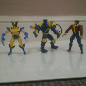 Marvel X-Men Lot 1990's Toy Biz Pre Legends Figures Loose