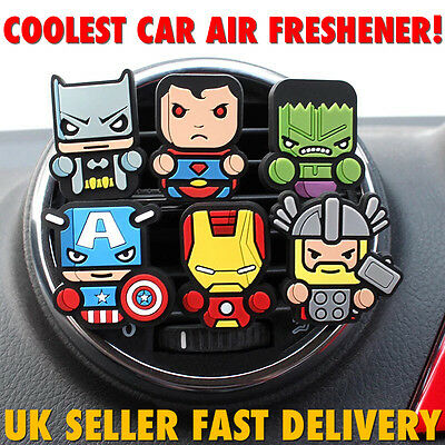 Marvel Avengers,StarWars,Ninja Turtles Home Car Air Freshener fragrance scent