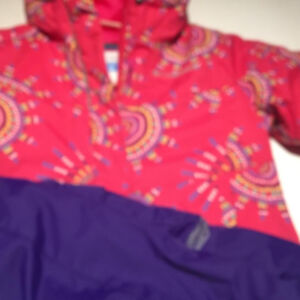 LIKE NEW! COLUMBIA 5/6  GIRLS SNOW SUIT