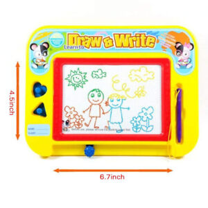 Magnetic Drawing Board with 2 Stamps 1 Pen