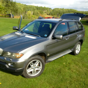 2004 BMW X5 Sport SUV, Crossover - For parts or Repair