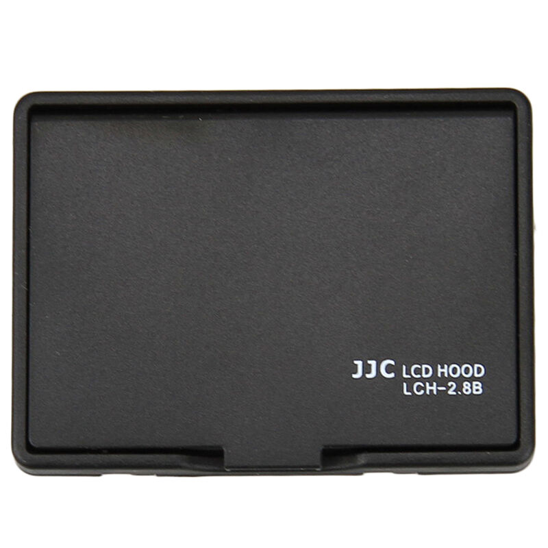 JJC Black 2.7/2.8 inch pop up LCD hood for Canon Nikon Sony Pentax Olympus