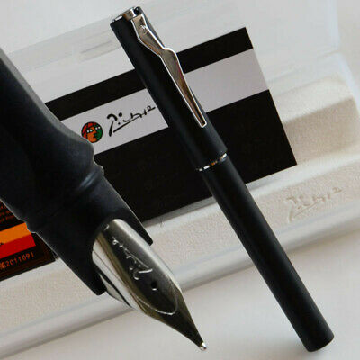 PICASSO 618 MATTE BLACK FINE NIB FOUNTAIN PEN BUSINESS OFFICE BEST GIFT WITH
