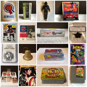 Online Collectibles Auction Ends Tomorrow