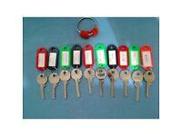 x10 UK Bump Key Set - Lock Pick Picking Set - Yale, Era, Legge, Cisa, Union, Iseo, Mila Etc