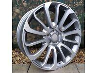 "22"" Rangerover Twist style Alloy Wheels will fit Rangerover Sport, Rangerover Vogue ETC"