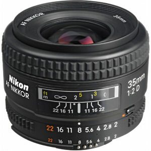 Nikon AF 35mm f/2D in Great condition