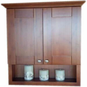 Beautiful Solid Wood Wall Cabinets on SALE! Variety of colors. Kitchener / Waterloo Kitchener Area image 1