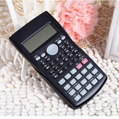82MS-5 Scientific 2-Line Display Calculator Digital LCD PL