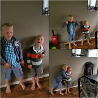 Looking for weekend childcare/nanny