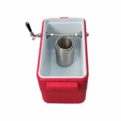 50 Stainless Steel Coil Jockey Box Coil For Homebrew With 58g Connector