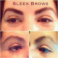 Women's Brow and Body Waxing/SleekBrows and Reiki