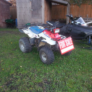Quad and Snowmobile for sale