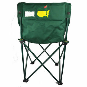 THE MASTERS - OFFICIAL FOLDING CHAIRS...SPECIAL GIFT FOR REAL GO