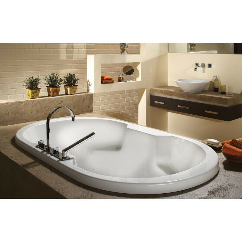 oceania so66 sophia 66 deck mount bathtub aero massage white | other
