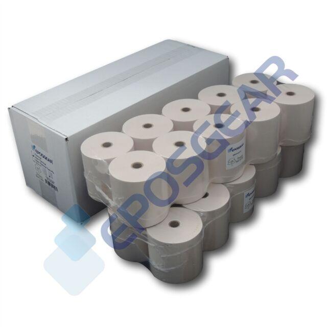 20 Epson M119B M119D M188B Single Ply Paper Till Kitchen Printer Receipt Rolls