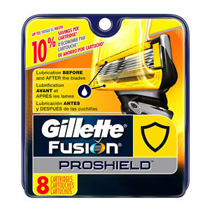 Gillette Fusion ProShield Replacement Cartridges, 8 Count - NEW