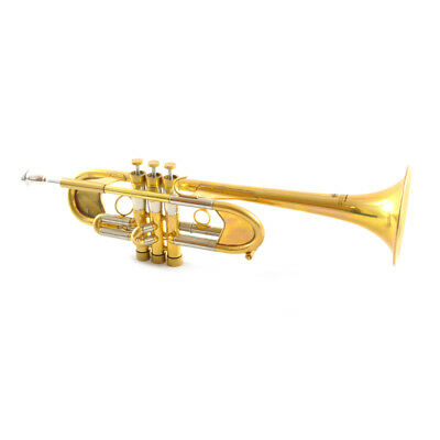 Used, Schiller Old City Cairo C Trumpet Unlacquered for sale  Shipping to Canada