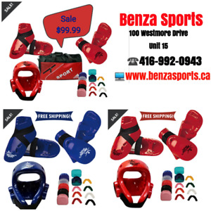 KARATE / TAEKWONDO Sparring Gear Set On Sale, BUNDLE SALE