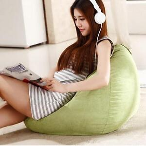 Bean Bag Chair Filled Lime Green Color Brand New 260106