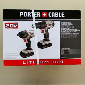 Porter cable 20v cordless drill / impact combo Brand new