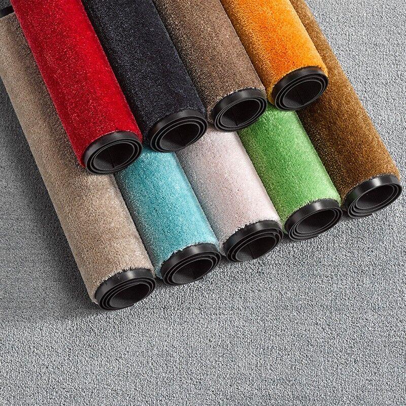 Fußmatte Schmutzfangmatte Soft & Clean einfarbig verschiedene Farben & Größen
