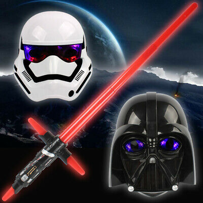 Star Wars Light Up Darth Vader Kid Adult Halloween Cosplay Party Mask Helmet New - Halloween Parties Kids