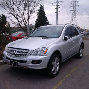 Mercedes Benz Ml500 2006 Silver