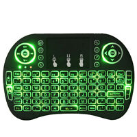 1pcs Wireless Keyboard Touchpad Mini I8 3 Colors Backlit Tv Box I8 2.4ghz - unbranded/generic - ebay.co.uk