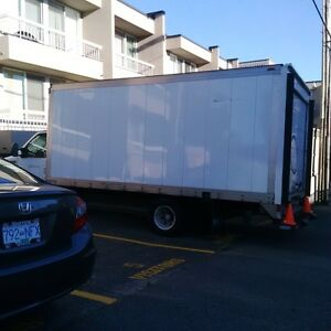 FORD E-350 SUPER DUTY, 1 TON, 16 FEET BOX, COMMERCIAL,