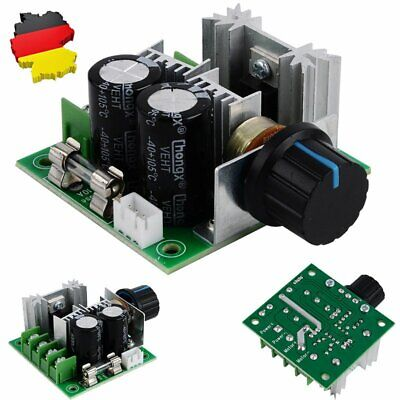 DE PWM DC Motor Drehzahlregler Modul 12V-40V 10A Motor Speed Schalter Controller - Motor Speed Controller