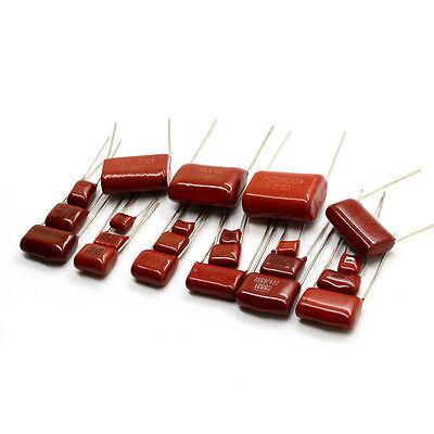 10pcslot Cbb Polypropylene Film Capacitor 10nf 22nf 47nf 100nf 220nf 1uf Etc.