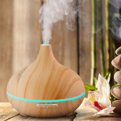 LED Umidificatore Ultrasuoni 300ml Aroma Diffusore Nebulizzatore Aromaterapia