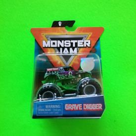 Monster Jam - GRAVE DIGGER Monster Truck 1/64
