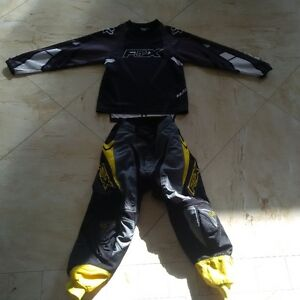 Children Fox Racing Pants & Long Sleeve Shirt