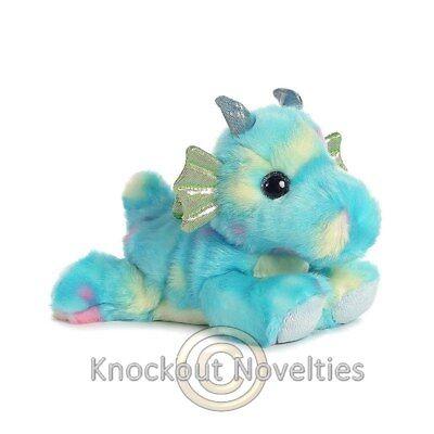 Sprinkles - Dragon Blue Aurora Plush Stuffed Animal Toy Cute Cuddly 7 Inches