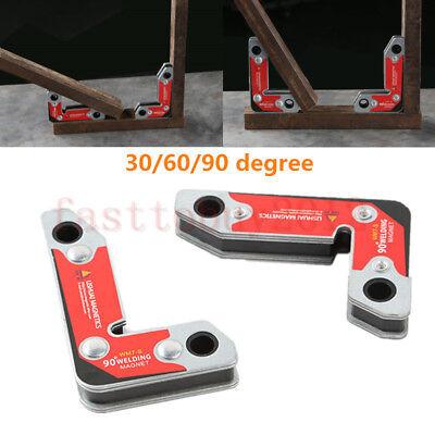 2pcs Insideoutside 90 Degree Neodymium Welding Magnets Holder 30 60 90 Angles