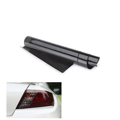 120cmx30cm Car Headlight Foil Window Tint Film Light Black Tint Film