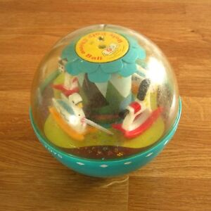 Boule Fisher Price vintage