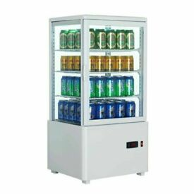 Commercial 68 Litre Display Refrigerator with digital temperature control