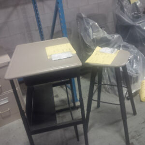 Desk and Stool... REDUCED... COMMERCIAL GRADE..
