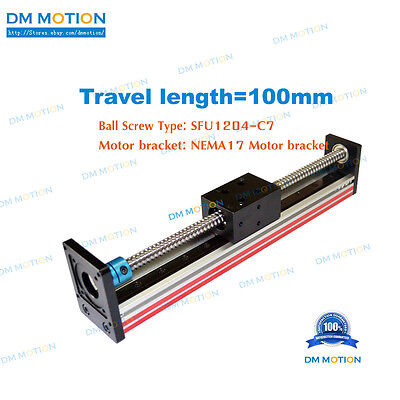 100mm Sfu1204 Miniature Linear Module For Z-axis Camera Teaching Black Friday