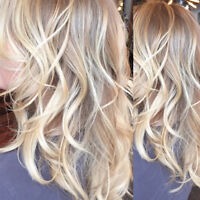 Ombre, Balayage, hair coloring, highlight, lowlight in Vaughan